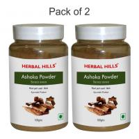Herbal Hills Ashoka Powder - 100 gms - Pack of 2